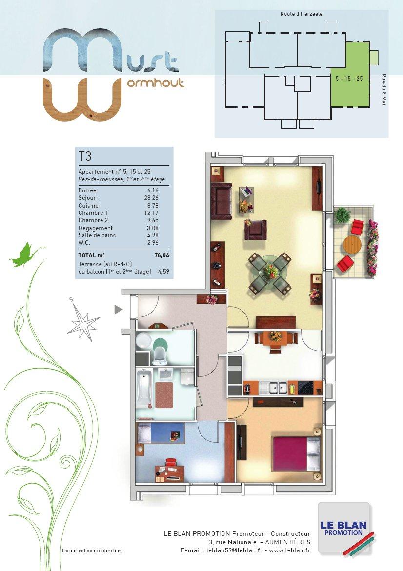 Colonne Salle De Bain Brico Leclerc ~ le must appartement neuf nord le blan promotion